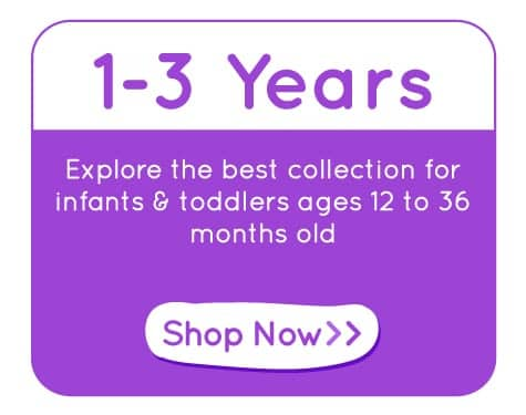 Educational Toys for 1 to 3 Years Old