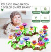 Flower-Garden-Building-Toys-Colored-Blocks-Stamens-11